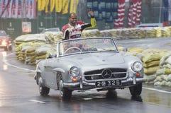 慢老斯里兰卡的英国的汽车 免版税图库摄影