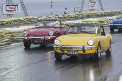 慢老斯里兰卡的英国的汽车 库存图片