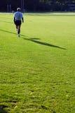 慢跑者公园 库存图片