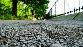 慢跑者在纽约 库存照片