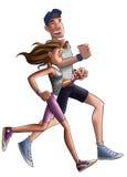 慢跑者 免版税图库摄影