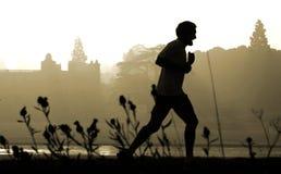 慢跑者 库存图片