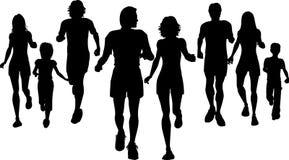 慢跑者 免版税库存照片