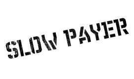 慢付款人不加考虑表赞同的人 免版税库存照片