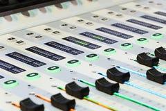 慰问混合 dj设备搅拌机音乐s合理的样式 免版税库存照片