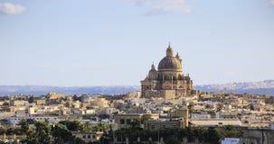 戈佐岛在马耳他岛 免版税库存图片