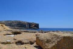 戈佐岛海岛,马耳他 免版税库存照片