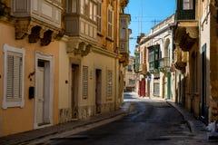 戈佐岛街道。 库存图片