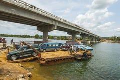 戈公岛brige找出戈公岛省柬埔寨王国brige给泰国房客 图库摄影
