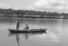 戈公岛brige找出戈公岛省柬埔寨王国brige给泰国房客 免版税库存图片