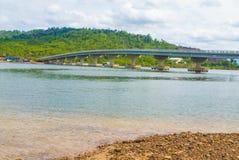 戈公省在柬埔寨 库存照片