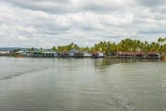 戈公省在柬埔寨 库存图片