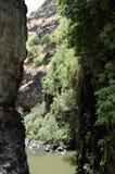 戈兰高地峡谷风景 免版税库存图片
