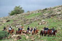 戈兰高地-以色列 免版税库存照片