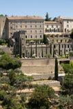 戈尔代中世纪小山顶镇  普罗旺斯 免版税库存图片