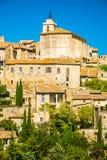戈尔代,普罗旺斯,法国古老中世纪村庄  库存图片