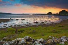 戈尔韦海湾,爱尔兰 免版税库存照片
