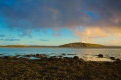戈尔韦海湾,爱尔兰 库存照片