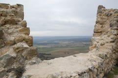 从戈尔马斯城堡的风景  库存照片