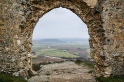 从戈尔马斯城堡  库存照片