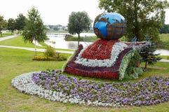 戈梅利,白俄罗斯, 2009年8月12日:在街道Efremova上的小建筑形式 免版税库存图片