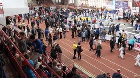 戈梅利,白俄罗斯- 2019年3月23日:II在柔道的国际自豪感杯比赛 股票录像