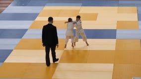 戈梅利,白俄罗斯- 2019年3月23日:II在柔道的国际自豪感杯比赛 影视素材