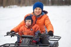 戈梅利,白俄罗斯- 2017年1月15日:国家冬天家庭假日 图库摄影