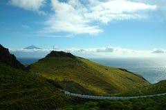 戈梅拉岛,特内里费岛 免版税库存图片