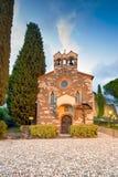 戈里齐亚,圣斯皮里托教堂 Friuli Venezia Giulia 库存照片