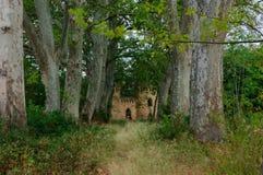 戏剧孩子的小城堡 库存照片