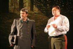 戏剧的片段关于第二次世界大战的 免版税库存图片