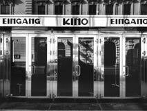 戏院入口 免版税图库摄影