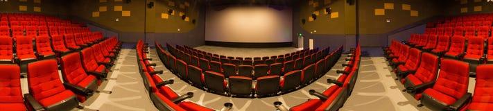 戏院全景 库存图片