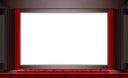 戏院向量 免版税库存图片