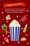 戏院和电影象集合 免版税图库摄影