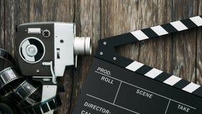 戏院和videomaking 免版税库存照片