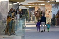 戏院城市在耶路撒冷以色列 库存图片