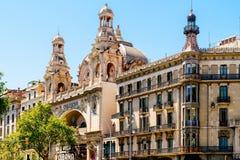 戏院大剧场在巴塞罗那 免版税库存照片