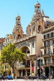 戏院大剧场在巴塞罗那 库存图片