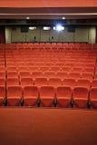 戏院大厅 免版税库存照片
