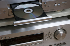 戏院录象系统 免版税库存照片