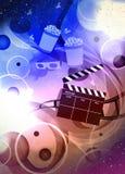 戏院或电影背景 免版税图库摄影