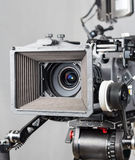 戏院电影摄影机 免版税库存图片