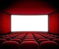 戏院荧屏 免版税图库摄影