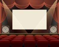 戏院霍尔 免版税库存照片