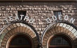 戏院&剧院 免版税库存图片