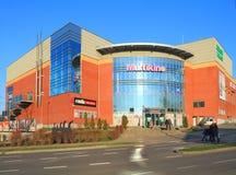 戏院Multikino在Elblag,波兰 免版税库存图片