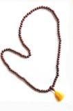 成串珠状佛教徒祈祷 库存图片