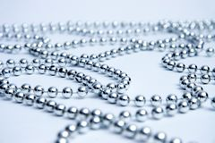 成串珠状玻璃 免版税图库摄影